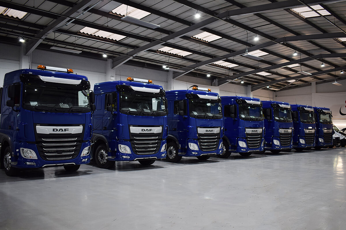 DAF Lineup Tamworth Workshop