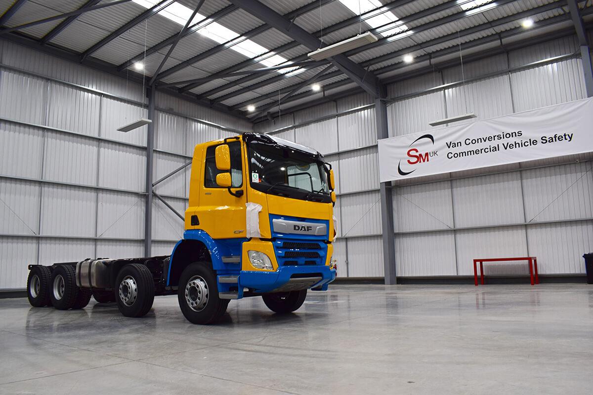 DAF Prepped for HGV Package at SM UK Tamworth