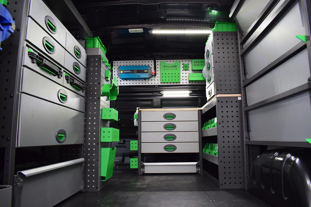 Full Van Edstrom Fitout by SM UK