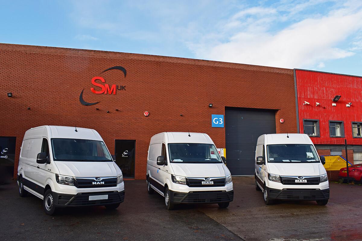 MAN Van conversions by SM UK Leeds External