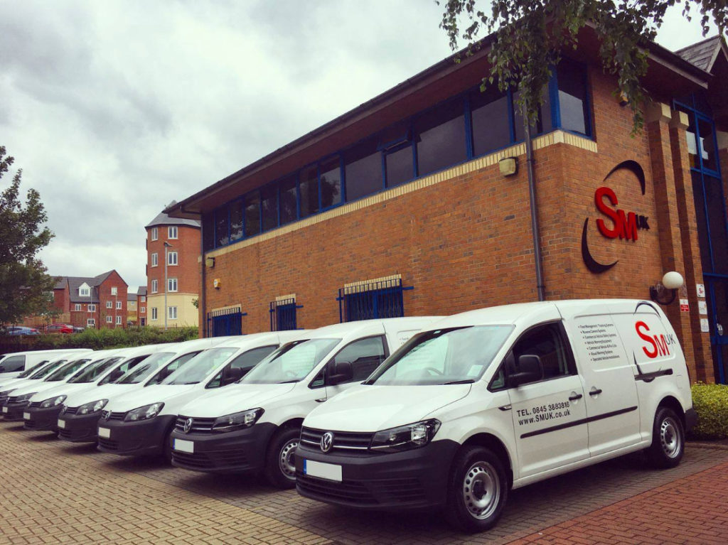 SM UK Fleet of Vans