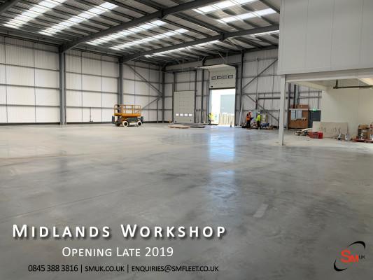 Midlands Workshop opening