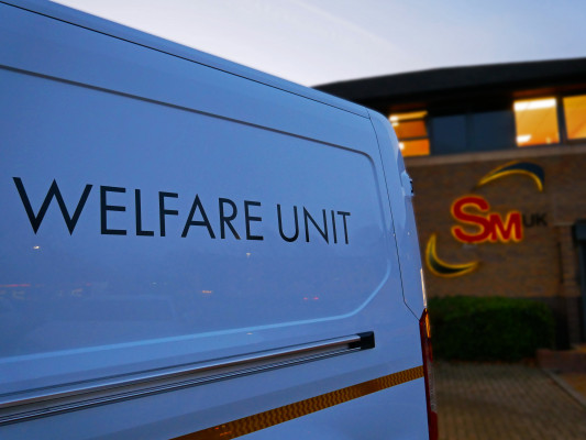 Welfare unit Welfare van