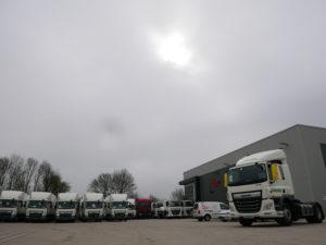 Tuffnells outside the SM UK Midlands workshop