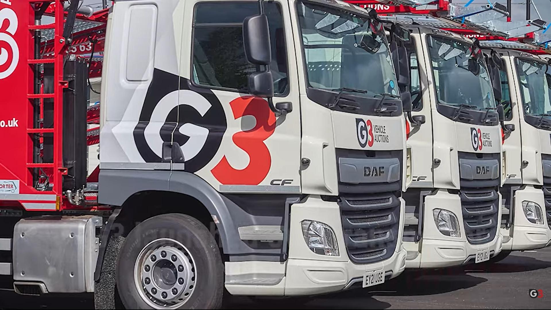g3 trucks with 4g camera system sm uk